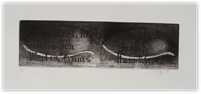 Marco Mucha - Grata di parole di PAUL CELAN - Click to enlarge