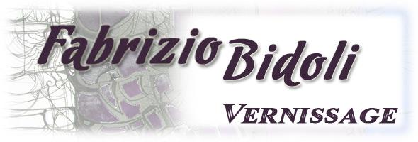 Fabrizio Bidoli vernissage
