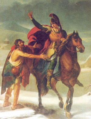 San Martino, olio su tela